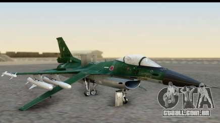 F-2A Zero Dark Green para GTA San Andreas