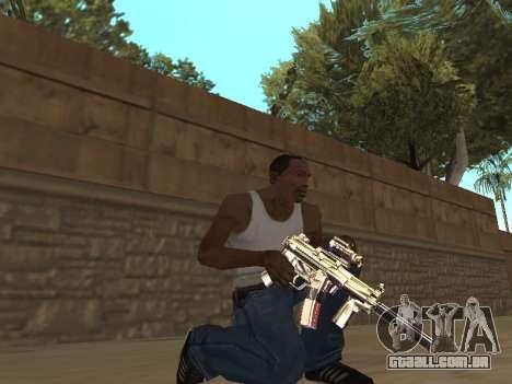 Chameleon Weapon Pack para GTA San Andreas terceira tela