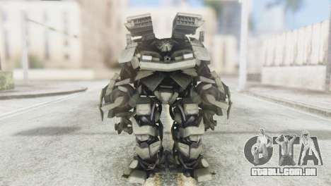 Des Titan Skin from Transformers para GTA San Andreas segunda tela