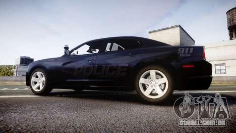 Dodge Charger LC Police Stealth [ELS] para GTA 4 esquerda vista