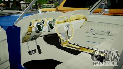 Ford Mustang 1967 para GTA 4 vista de volta
