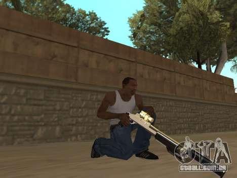 Chameleon Weapon Pack para GTA San Andreas segunda tela
