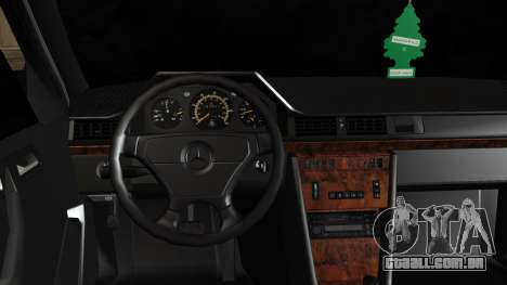 Mercedes-Benz W124 E500 para GTA San Andreas vista direita