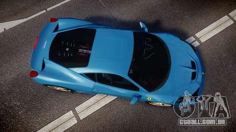 Ferrari 458 Speciale 2014 para GTA 4 vista direita