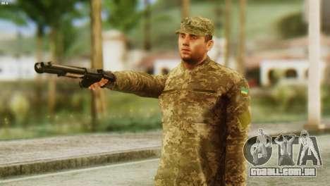 Um Membro Das Forças Armadas Da Ucrânia para GTA San Andreas
