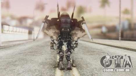 Breakaway Skin from Transformers para GTA San Andreas terceira tela