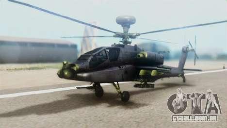 AH-64D Apache Longbow para GTA San Andreas