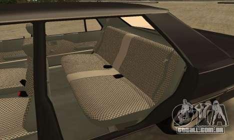 Renault 9 TSE 1992 para GTA San Andreas vista inferior