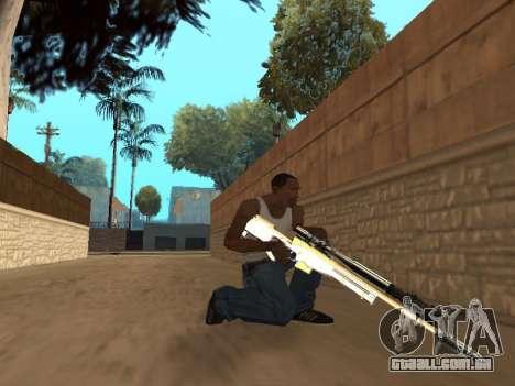 Chameleon Weapon Pack para GTA San Andreas sétima tela