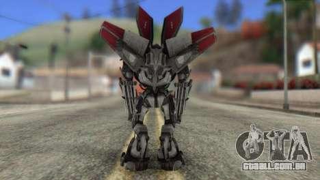 Air Raide Skin from Transformers para GTA San Andreas segunda tela