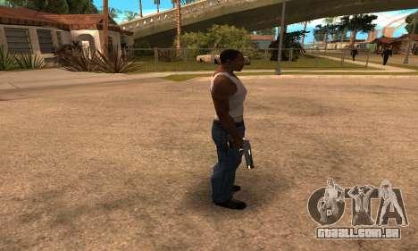 Deagle White and Black para GTA San Andreas terceira tela