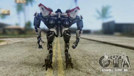 Starscream Skin from Transformers v1 para GTA San Andreas terceira tela