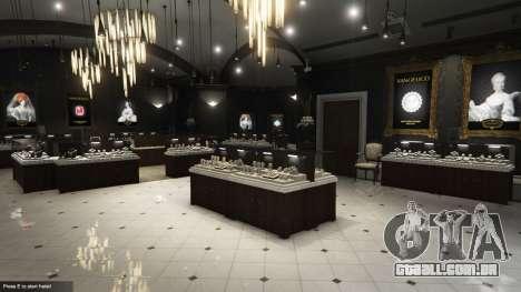 GTA 5 O roubo a uma loja de jóias e v0.2 segundo screenshot