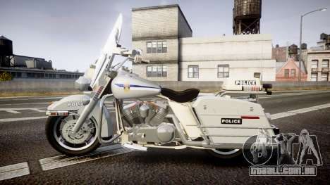 Harley-Davidson FLH 1200 SPVQ [ELS] para GTA 4 esquerda vista