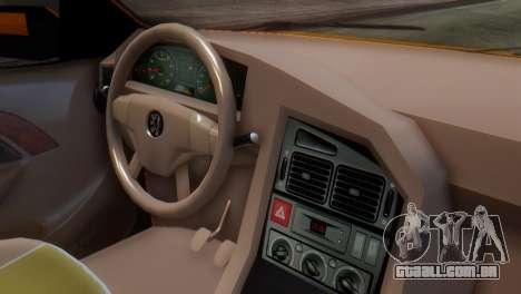 Peugeot 405 Slx Taxi para GTA San Andreas vista direita