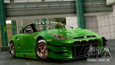 Nissan GT-R (R35) GT3 2012 PJ1 para GTA San Andreas