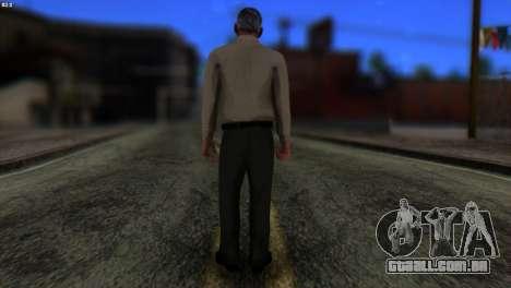 GTA 5 Skin 6 para GTA San Andreas segunda tela