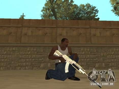 Chameleon Weapon Pack para GTA San Andreas quinto tela