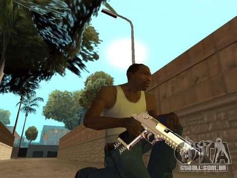 Chameleon Weapon Pack para GTA San Andreas sexta tela