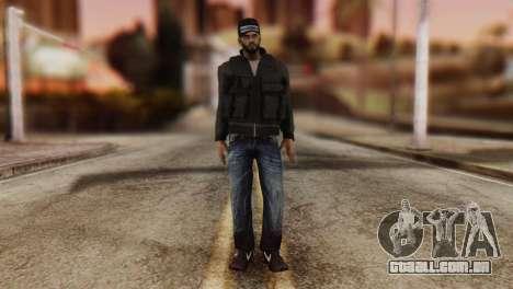 Desmadroso Skin v8 para GTA San Andreas segunda tela