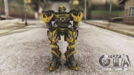 Ratchet Skin from Transformers v1 para GTA San Andreas segunda tela
