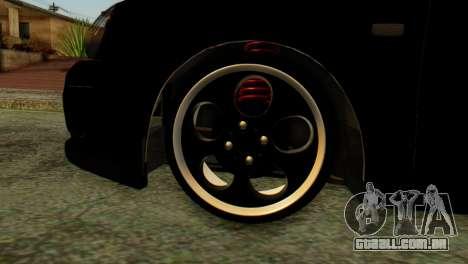 VAZ 2172 Coupé para GTA San Andreas traseira esquerda vista