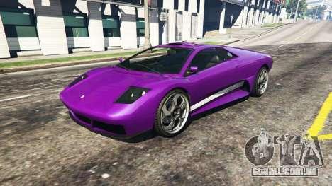 Super velocidade do carro para GTA 5