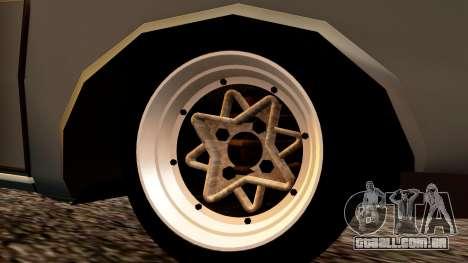 Dacia 1300 Tuning para GTA San Andreas traseira esquerda vista
