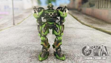 Ratchet Skin from Transformers v2 para GTA San Andreas segunda tela