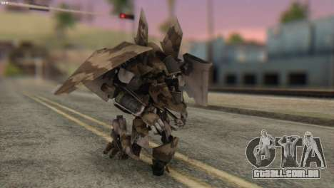 Breakaway Skin from Transformers para GTA San Andreas