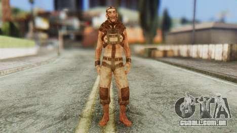 Lunatic NPC from Batman Arkham Asylum para GTA San Andreas segunda tela