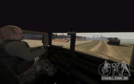 GTA 5 Millitary Patriot para GTA 4 traseira esquerda vista