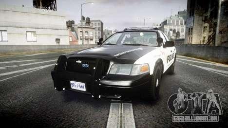 Ford Crown Victoria Alderney Police para GTA 4