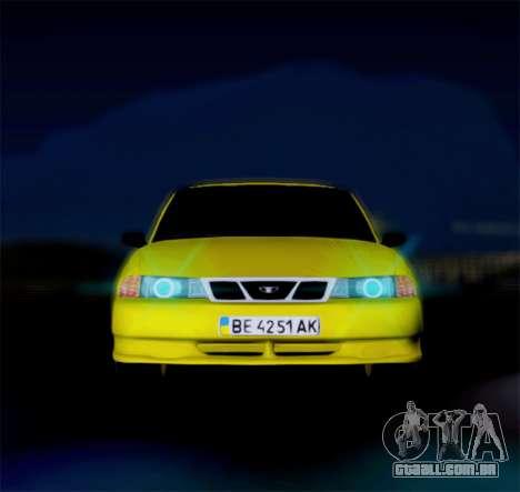 Daewoo Nexia 2006 para GTA San Andreas esquerda vista