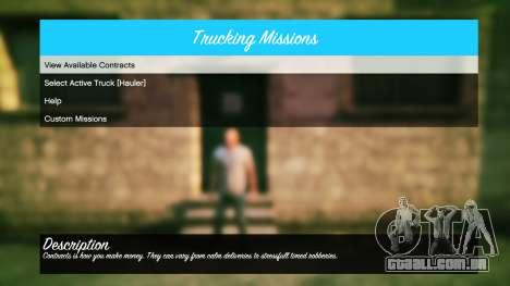 GTA 5 Caminhões v1.4 quarto screenshot