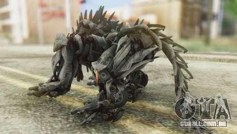 Hatchet Skin from Transformers para GTA San Andreas segunda tela