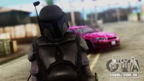 Star Wars Repulic Commando 2 Jango Fett para GTA San Andreas terceira tela