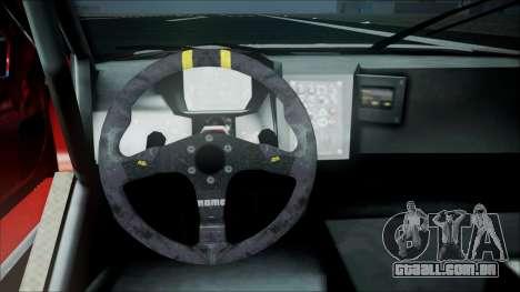 Volvo S60 Racing para GTA San Andreas vista direita