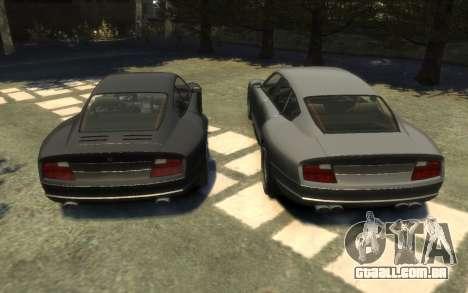 Pfister Alterego para GTA 4 vista de volta