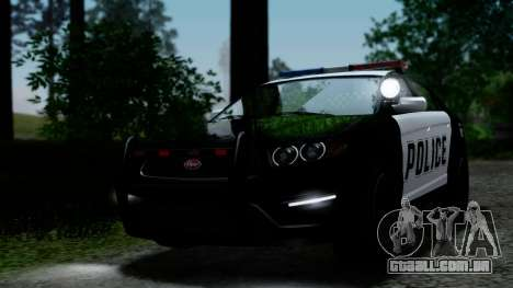 GTA 5 Vapid Police Interceptor v2 IVF para vista lateral GTA San Andreas