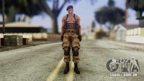 Jack Krauser Skin from Resident Evil para GTA San Andreas segunda tela