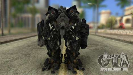 Ironhide Skin from Transformers v2 para GTA San Andreas segunda tela