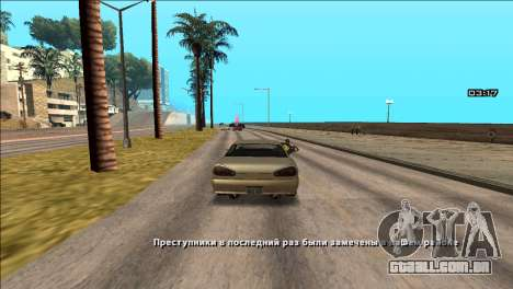 COP Plus para GTA San Andreas segunda tela