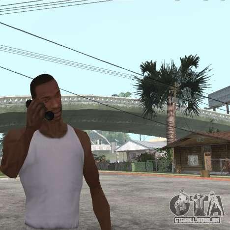 Telefone para GTA San Andreas segunda tela