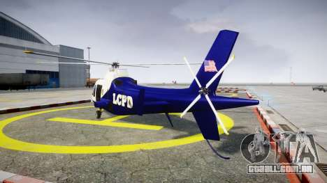 Buckingham Swift LCPD para GTA 4 traseira esquerda vista
