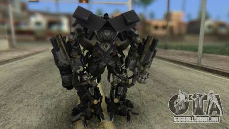 Ironhide Skin from Transformers v2 para GTA San Andreas terceira tela