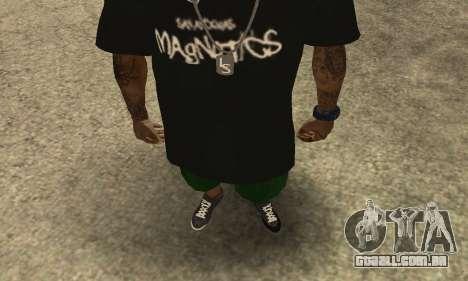 Groove St. Nigga Skin The Third para GTA San Andreas segunda tela