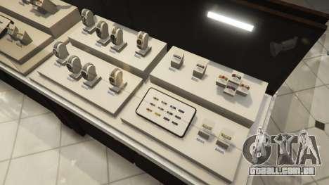 O roubo a uma loja de jóias e v0.2 para GTA 5