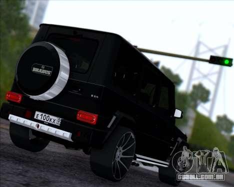 Brabus B65 Angry para GTA San Andreas vista direita