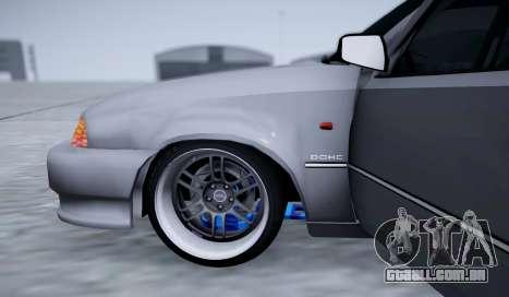 Daewoo Nexia 2006 para GTA San Andreas vista superior